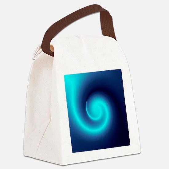 Deep Sea Swirl Canvas Lunch Bag