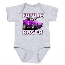 Future Racing Kid Cars Baby Bodysuit