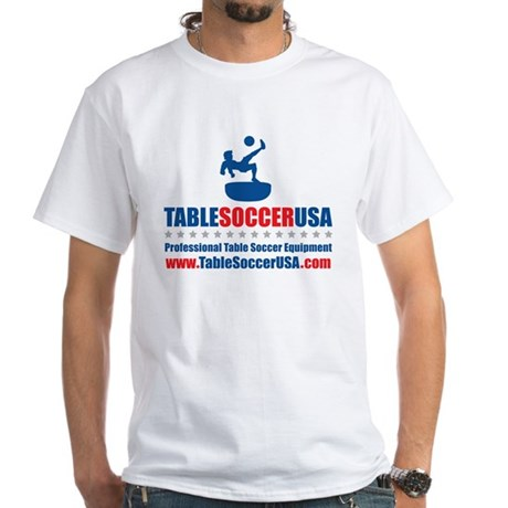 Table Soccer USA 1 White T-Shirt