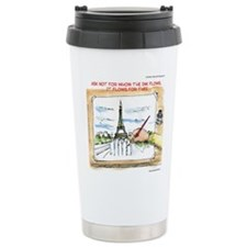 For Whom The Ink Flows Travel Mug