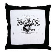 Nightvale Ouija Throw Pillow