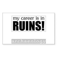 My Career is in Ruins! Rectangle Decal
