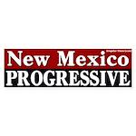 New Mexico Progressive Bumper Sticker