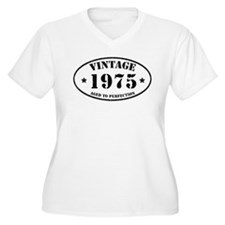 Vintage Aged to Perfection 1975 Plus Size T-Shirt