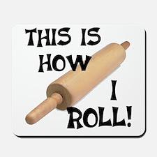 Rolling Pin Mousepad