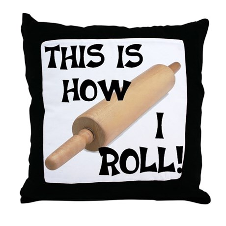 Rolling Pin Throw Pillow