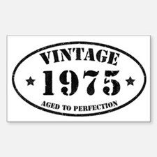 Vintage Aged to Perfection 1975 Decal