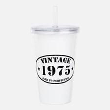 Vintage Aged to Perfec Acrylic Double-wall Tumbler