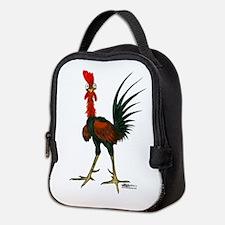 Crazy Rooster Neoprene Lunch Bag