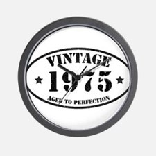 Vintage Aged to Perfection 1975 Wall Clock