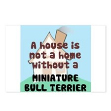 Mini Bull Home Postcards (Package of 8)