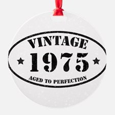 Vintage Aged to Perfection 1975 Ornament