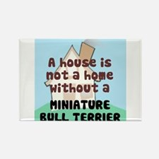 Mini Bull Home Rectangle Magnet