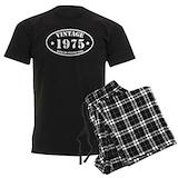 40th birthday Men's Pajamas Dark
