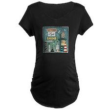 Light Shine Dark Maternity T-Shirt