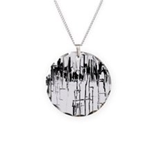 City in Black Necklace