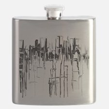 City in Black Flask