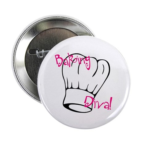 "Baking Diva 2.25"" Button (100 pack)"