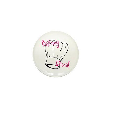 Baking Diva Mini Button (10 pack)