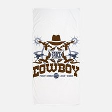 Space Cowboy Beach Towel