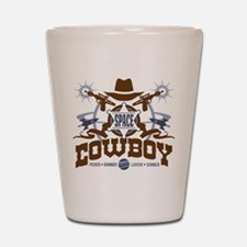 Space Cowboy Shot Glass