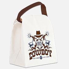 Space Cowboy Canvas Lunch Bag