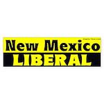 New Mexico Liberal Bumper Sticker