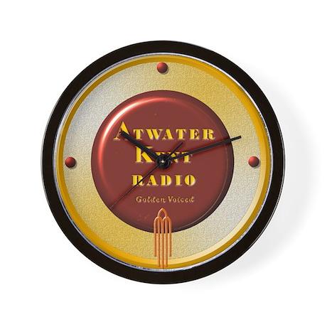 ATWATER-KENT WALL CLOCK