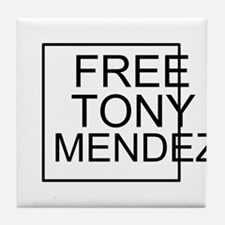 Free Tony Mendez Tile Coaster