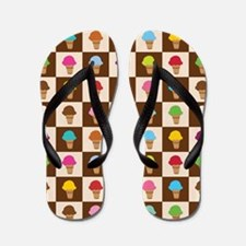 Ice Cream Cones Flip Flops
