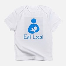 Cute Eat local Infant T-Shirt