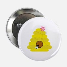 """Bee Hive 2.25"""" Button"""