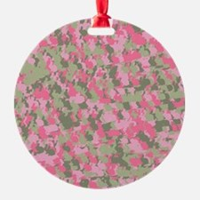 Pink Bunnyflage 2 Ornament