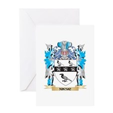 Niksic Coat of Arms - Family Crest Greeting Cards