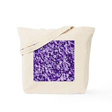 Purple Bunnyflage Tote Bag