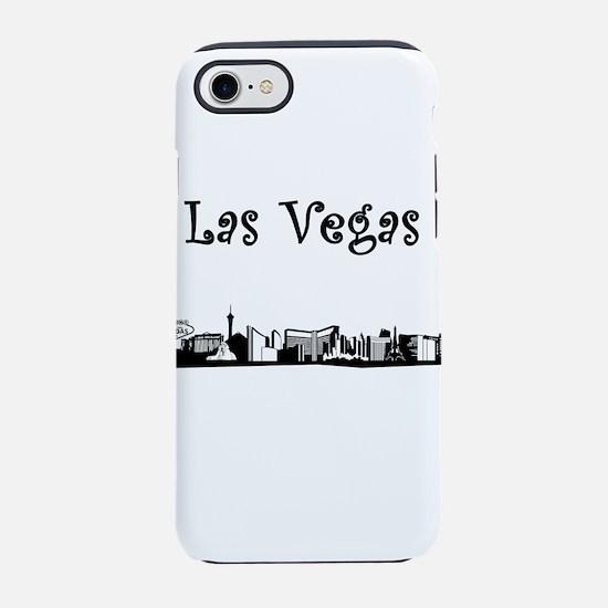 Las Vegas Skyline iPhone 7 Tough Case