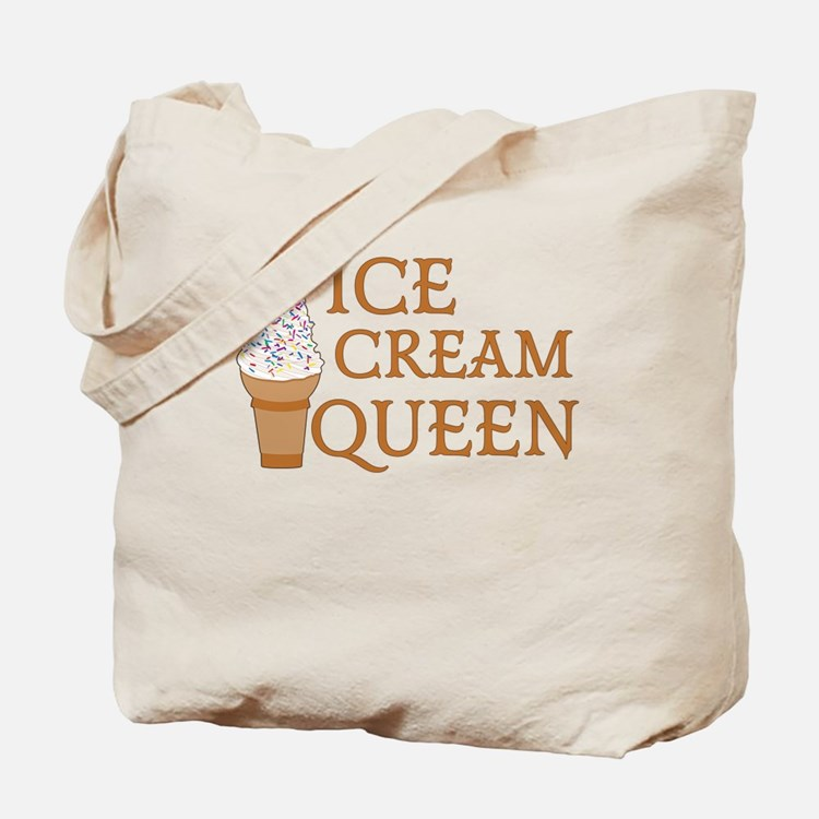 Ice Cream Queen Tote Bag