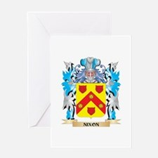 Nixon Coat of Arms - Family Crest Greeting Cards