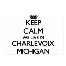 Keep calm we live in Char Postcards (Package of 8)