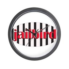 Jail bird Wall Clock