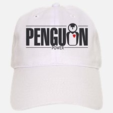 Penguin Power Baseball Baseball Cap