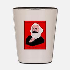 Marxist Valentine Shot Glass