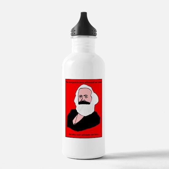 Marxist Valentine Water Bottle