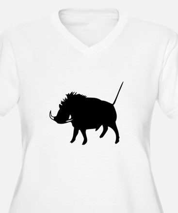 Wart Hog Plus Size T-Shirt