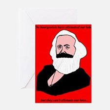 Marxist Valentine Greeting Cards