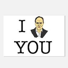 I Herzog You Postcards (Package of 8)