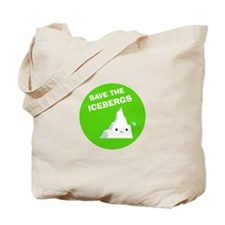 Save the Icebergs Tote Bag