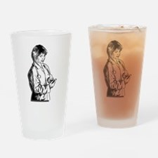 Lady Doctor Drinking Glass