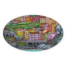 Colours of Manarola Decal