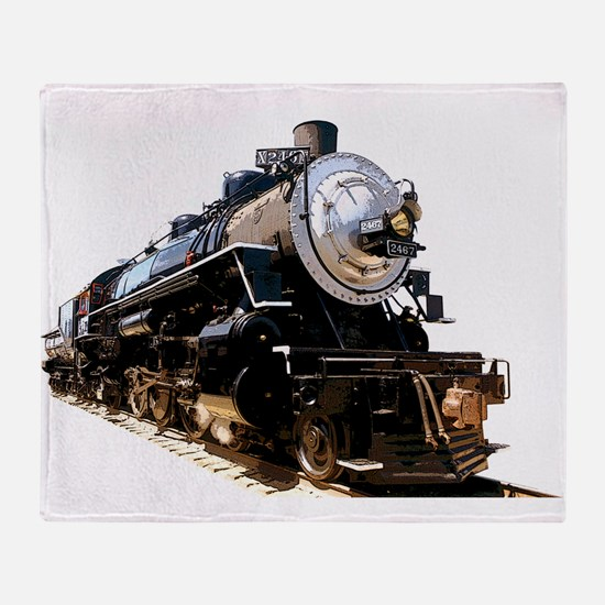 Cute Railroad Throw Blanket